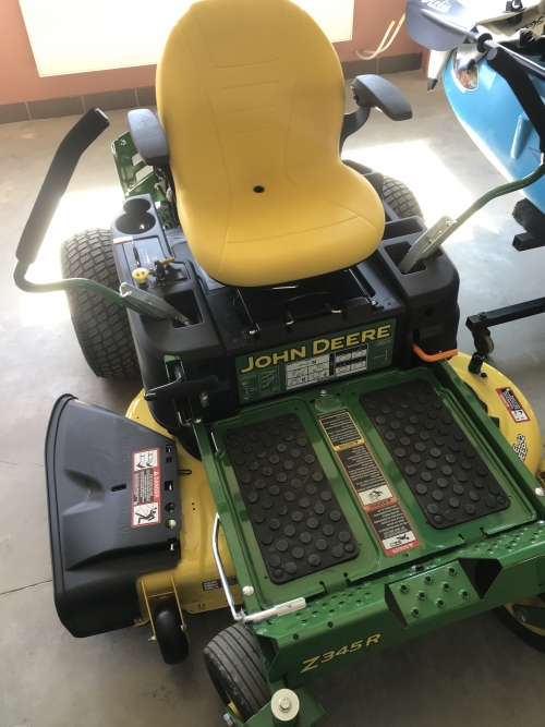 JohnDeer Z345r